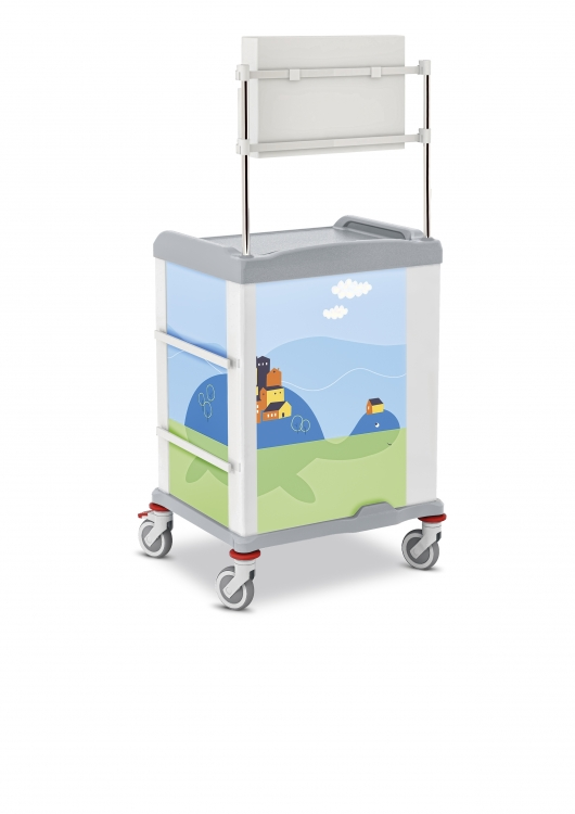 329561 linkar medical pediatric trolley