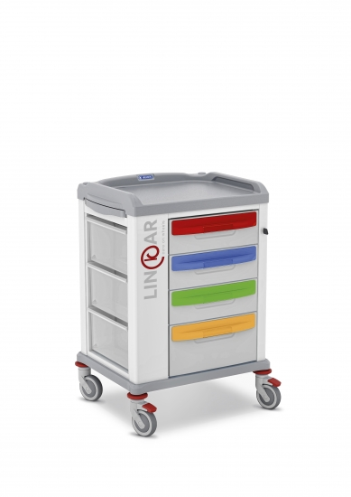 LINKAR Pediatric trolley, 45 cm drawers