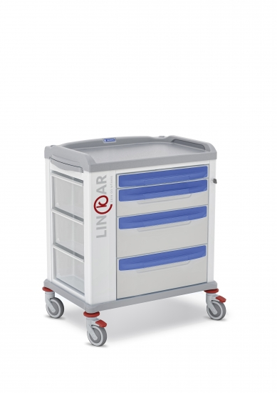 LINKAR Utility trolley, 60 cm drawers