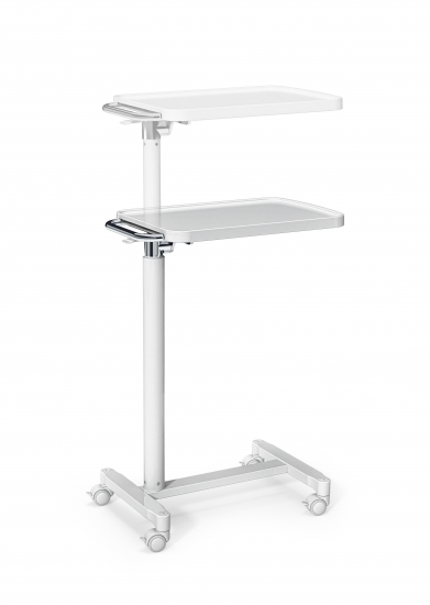 Over-bed table, height adjustable, for bedside cabinet...