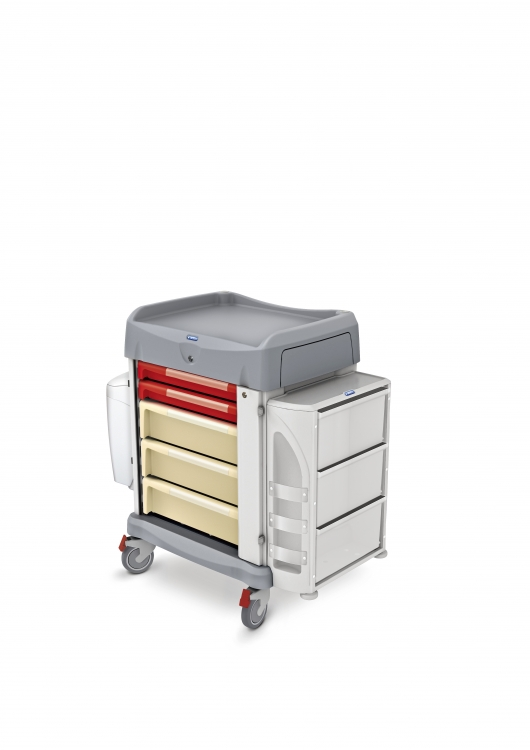328025 multi use trolley for hospital