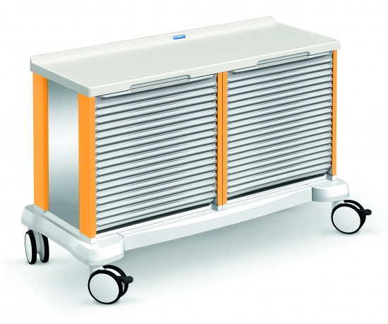 transport modular trolley, car-go range, double, with...