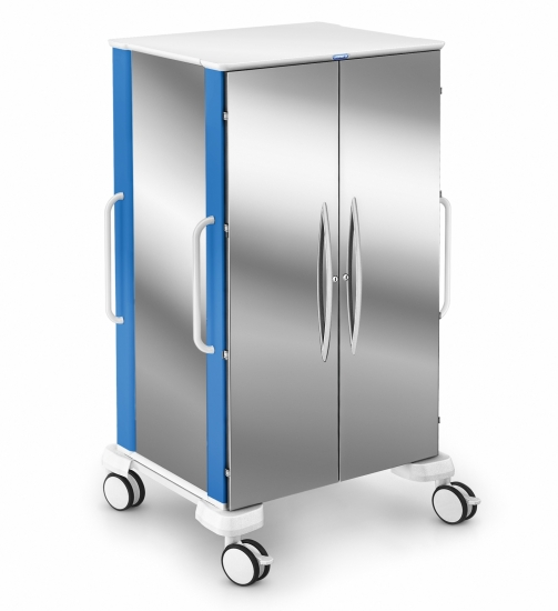 Transport modular trolley, Car-go range, stainless steel...