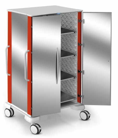 Transport modular trolley, CAR-go range, s/s doors...