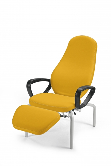 Valea relaxing chair with polyurethane arms, with...