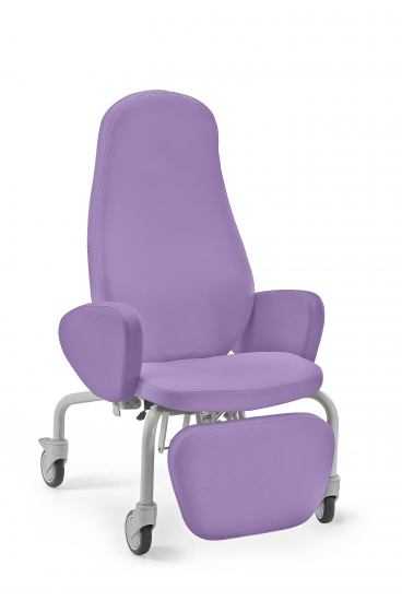 Desidia relaxing chair model on wheels, with padded...