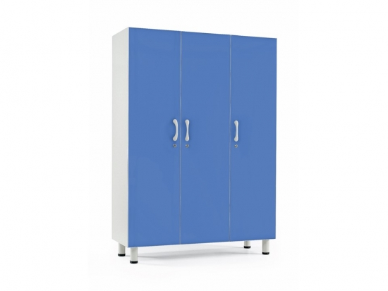 Cupboard, 3 places dim. cm 135x50x190 h