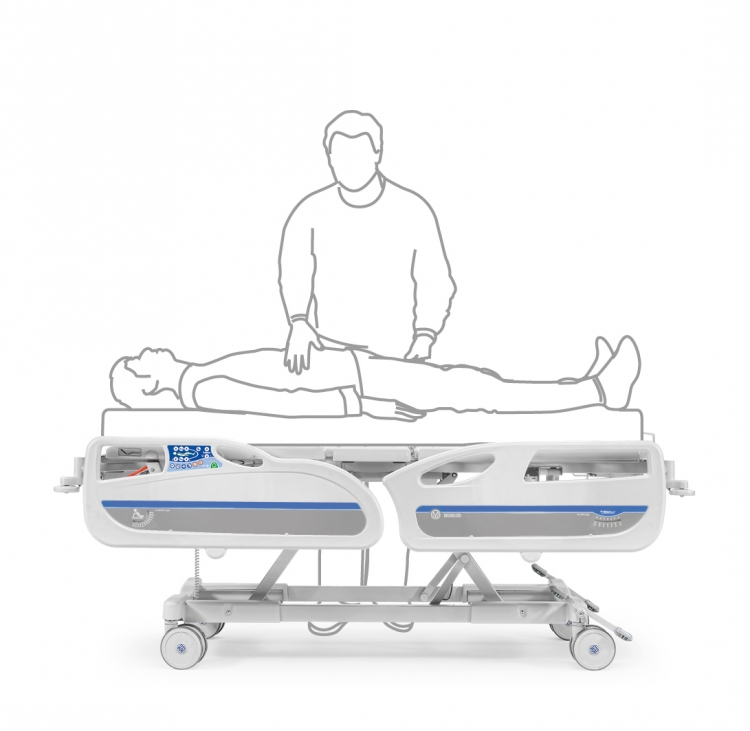 346760h electric bed examination position