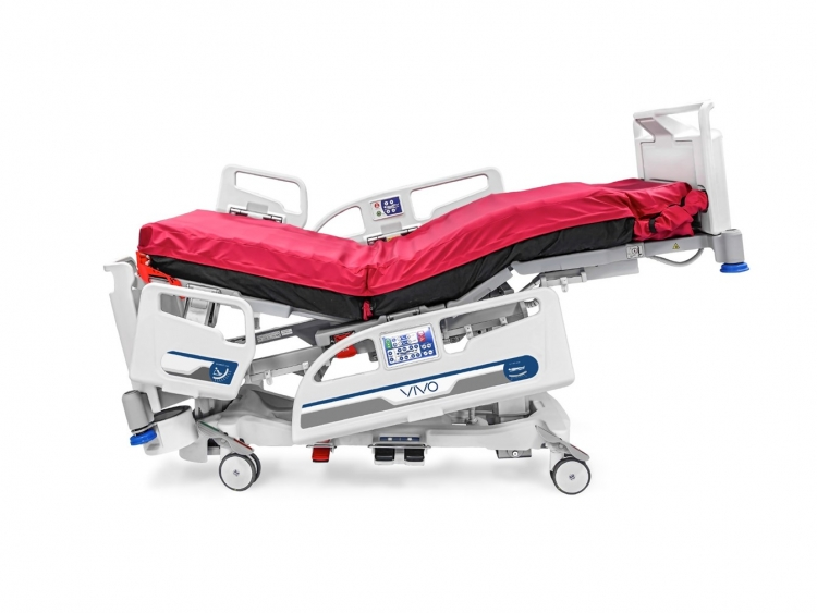 vivo icu bed fowler position