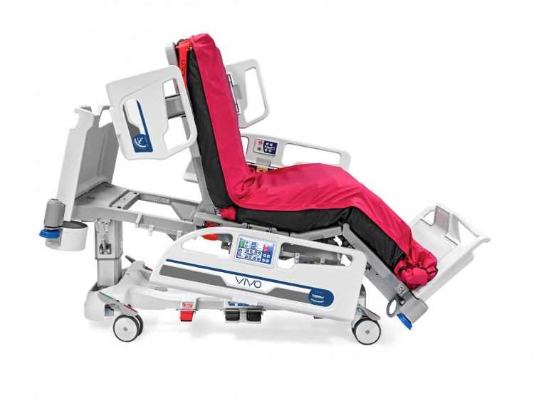 vivo icu bed chair position