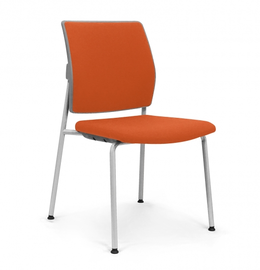 Chair with padded back and seat