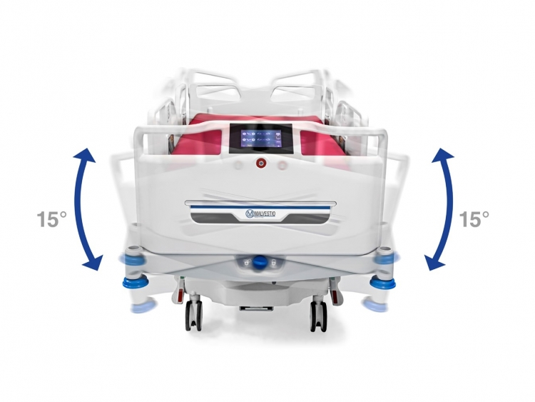 vivo icu bed tilt lateral rotational therapy