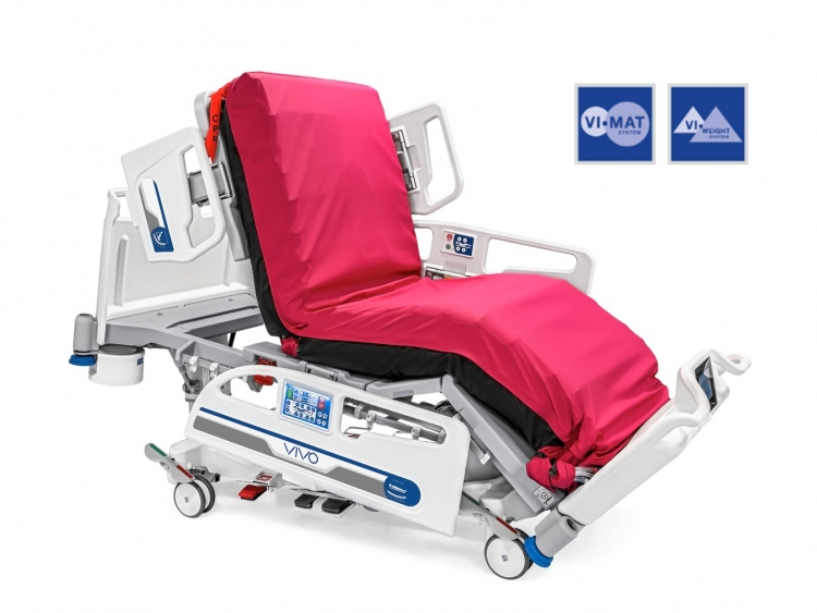 vivo icu bed with air mattress and weighing system