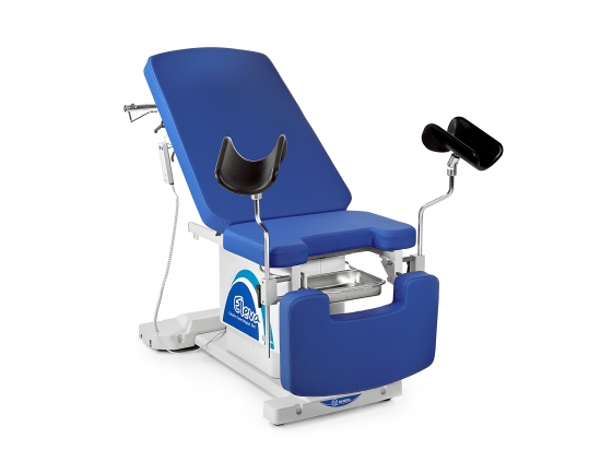 ELEVA gynaecological examination couch with electric...