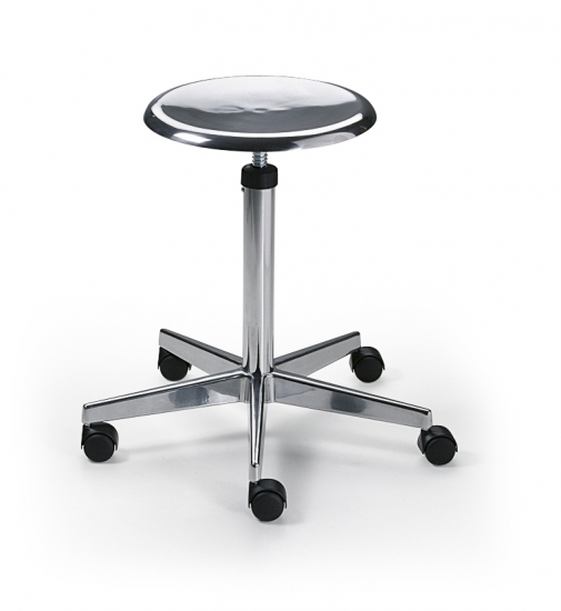 Stool, light alloy