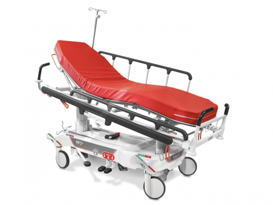 Hydraulic stretcher for emergency (inthes), variable heigh...