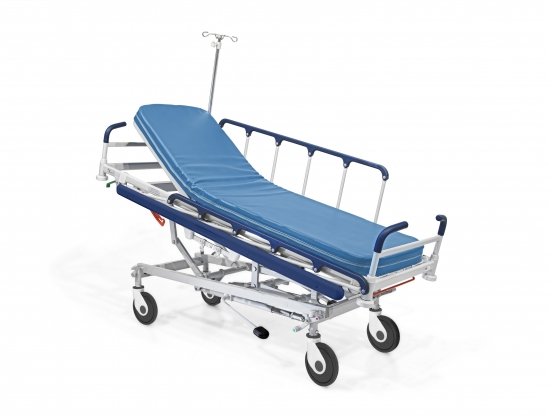 Stretcher SISTY Compact, hydraulic, height adjustable, with...