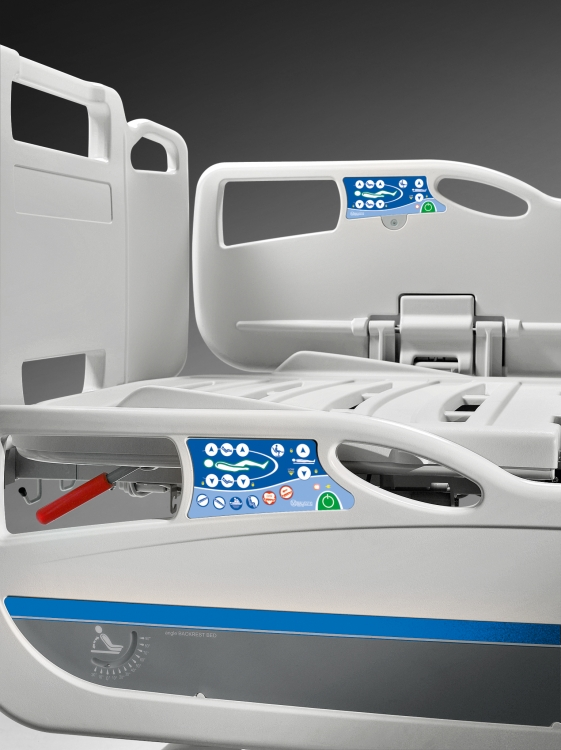 346900q electric bed healthcare controls integrated