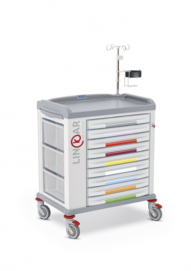 LINKAR Broselow trolley, drawers 60 cm